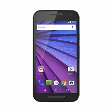 Motorola Moto G 3rd gen 16GB Black - Refurbished - 6 Months Seller Warranty