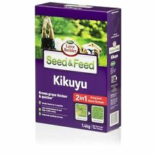 1.4kg 2in1 KIKUYU Lawn Grass Seed & Feed Blend Mix High Success Low Maintenance