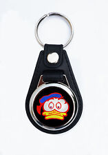 BARRY SHEENE DUCK FAUX LEATHER KEY RING / KEY FOB.ICONIC MOTORCYCLE RACER.RIP