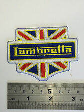 Lambretta Union Jack - Embroidered - Iron or Sew On