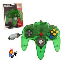 New Jungle Green N64 Gamepad Controller (Nintendo 64)