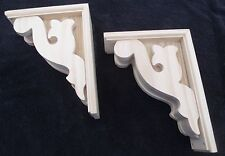 "Victorian Gingerbread Wood Corbel {12"" x 9"" } Bracket #4 ~ PAIR ~ by  PLD"