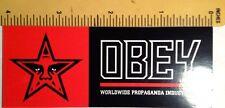 Worldwide Propaganda Industries Obey Shepard Fairey Skateboard Sticker Decal