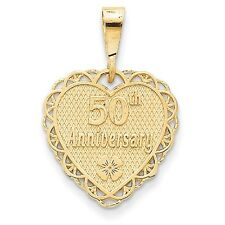 29 mm 14k 50th Anniversary Charm