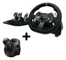 Logitech G920 Xbox Wheel + G Driving Force Shifter for Xbox One and PC Comb
