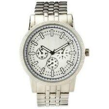 Merona Men's Bracelet Watch - Color Silver FMDM253