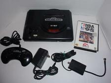Sega Genesis 1601 System Console w/Controller, PS, A/V Cable, Game - Works, EUC