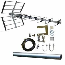 48 Element 12dB CAI DIGITAL TV Aerial with COMPLETE Installation Kit. TOP SPEC!