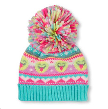 Toddler Girls 'Emoji' Pom Pom Beanie  HAT size S/M (4-7YR)