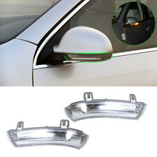 2Pcs Side View Mirror Indicators Turn Signal Light Lamp for VW GOLF JETTA Passat