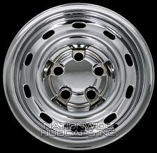 "4 New CHROME 2004-12 Dodge Ram 1500 17"" Wheel Skins Hub Caps 10 Slots Rim Covers"