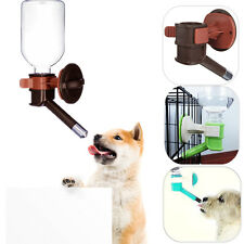 Pet Cat Puppy Dog Hanging Bottle Drinking Fountain Dispenser Water Head Feeder
