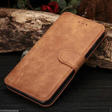 NEW LUXURY SUEDE LEATHER FLIP WALLET CASE COVER FOR APPLE IPHONE 5 5S 6 & 6 PLUS
