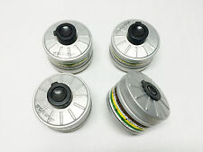 4pcs gas mask filter 40mm nato A2B2E2K2P3 nbc respirator filters 40mm nato 40mm