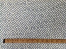 Colefax and Fowler Linen Jacquard Upholstery Fabric Milne in Old Blue 6.5 yards