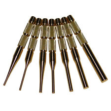 Brass 7 pc Precision Roll Drift Pin Gunsmithing Tool Punch set Made in USA