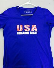 USA Dragon Boat Technical Shirt Women's Medium