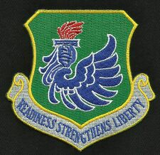 New York Air National Guard 106th Rescue Wing Military Patch READINESS STRENGTH