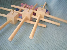 3 wood frames for baby mobiles