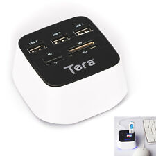 Tera 7 in 1 Super Speed USB 2.0 HUB Memory Card Reader Adapter M2 TF MS SD New