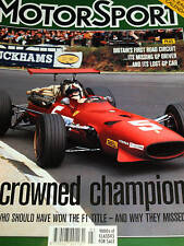 KIEFT F1 GP CAR COVENTRY CLIMAX + CHRIS IRWIN STORY + CHRIS AMON STIRLING MOSS