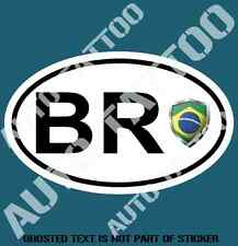 BRAZIL COUNTRY CODE DECAL STICKER CAR TRUCK RALLY EURO STYLE DECLS STICKERS