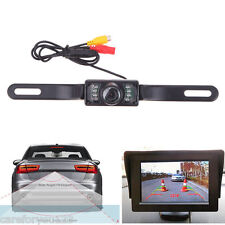 CMOS Auto Car Rear View Reverse Cam Backup Parking System IR Camera Night Vision