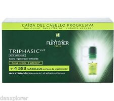 RENE FURTERER 8 VIALS TRIPHASIC VHT REG HAIR LOSS PROGRAMME NIB