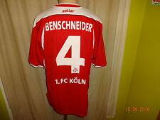 1.FC Köln saller Trikot 2003/04 + Nr.4 Benschneider + Unterschrift Gr.L/XL
