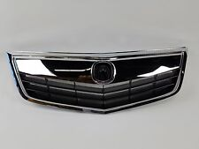 NEW Acura TSX Upper Bumper Grille Grill Chrome Molding Whole Kit 11 12 13 14