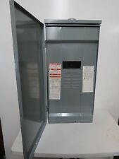 SquareD 200-Amp 8-Space 16 Circuit Outdoor Main Breaker Box Panel Load  599H