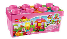 LEGO Duplo 10571 All-in-One Pink Brick Box - Brand New