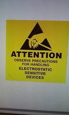 """Attention Observe Precautions for Handling, Paper Labels, 500 Labels / Roll, 2"""""""