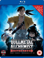 FULLMETAL ALCHEMIST BROTHERHOOD FIVE (EPISODES 53 TO 64 - BLU-RAY - REGION B UK