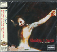 MARILYN MANSON-HOLY WOOD (IN THE SHADOW OF THE VALLEY OF DEATH)-JAPAN SHM-CD D50