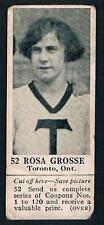 1925 Dominion Chocolate Sports Card #52 Rosa Grosse (Basketball)