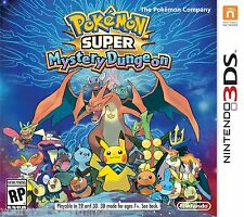 Pokemon Super Mystery Dungeon (Nintendo 3DS, 2015) Brand New!!