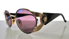 Gianni Versace Medusa VTG 1990s Sunglasses Mod S65 Col 16L Purple Gold Vintage