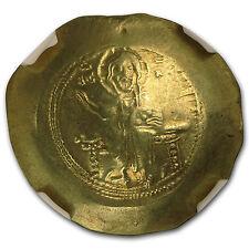 Byzantine Gold Histamenon Nicephorus Iii (1078-81 Ad) Au Ngc - Sku #97572