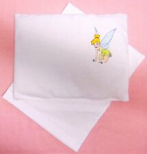 New Tinkerbell fairy toy pram cot bed sheet and pillow set baby doll teddy bear