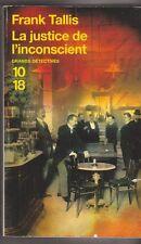 La justice de l'inconscient -  Frank Tallis -  2007 . Carnets de Max Lieberman