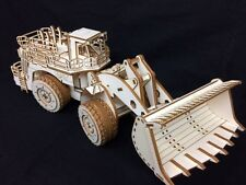 Laser Cut Wooden Caterpillar 994 Loader 3D Model/Puzzle Kit