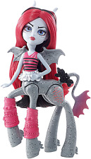 MONSTER High Spavento-MARES LYRA quartzmane doll
