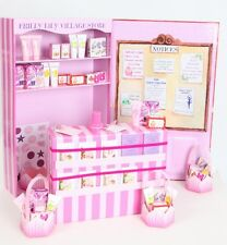 DOLLS SHOP SET FROM FRILLY LILY ! PERFECT FOR BABY ANNABELL PACKED WITH DETAIL !