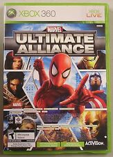 Marvel: Ultimate Alliance/Forza Motorsport 2 Xbox 360 Avengers Rare, no manual