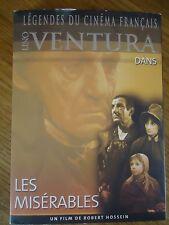 * LES MISERABLES * Collection 1 Lino VENTURA CARMET Michel BOUQUET LEGENDES DVD
