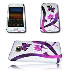 Design No.1 Handy Silikon TPU Cover Hülle + Displayschutzfolie SAMSUNG GALAXY S2