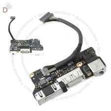 "Apple MacBook Air 13"" A1466 2012 MD231 820-3214-A DC Power Jack Audio Board"