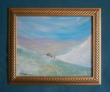 "A  PAINTING OF  ""WINTER IN THE SCOTTISH HIGHLANDS"" - SIGNED"