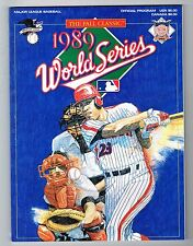 1989 World Series Oakland Athletics vs SF Giants MLB Baseball Program